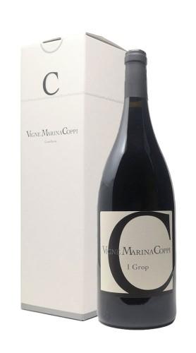 """""""I Grop"""" Barbera Superiore Colli Tortonesi DOC Vigne Marina Coppi 2010 Magnum con confezione"""