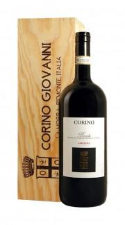 """""""Arborina"""" Barolo DOCG Giovanni Corino 2013 Magnum con box di legno"""