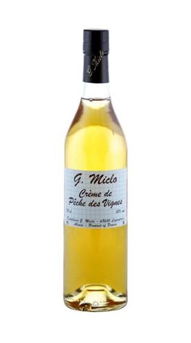 Creme de Peche des Vignes Distillerie G. Miclo con astuccio