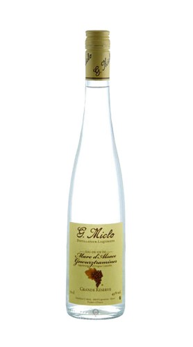 """Marc D'Alsace Gewurztraminer"" Grand Reserve Distillerie G. Miclo con astuccio"