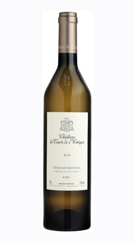 """""""Château La Tour de l'Evêque Blanc"""" Côtes de Provence Chateau la Tour de l'Eveque 2019"""