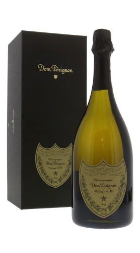 Champagne Brut Vintage Dom Perignon 2010 con Confezione