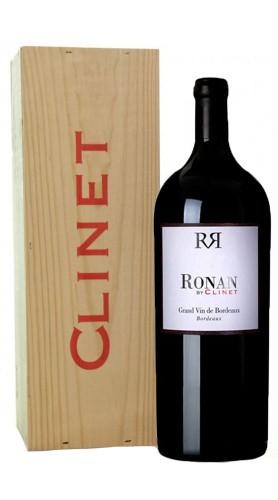 """Ronan By Clinet"" Bordeaux AOC Chateau Clinet 2015 MAGNUM (BOX DI LEGNO)"