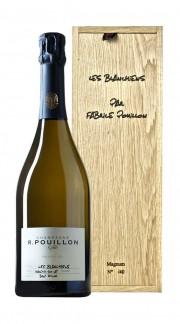 """""""Les Blanchiens"""" Champagne 1er Cru Roger Pouillon 2013 Magnum con Box di Legno"""