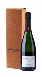 """""""Reserve"""" Champagne Brut Roger Pouillon con confezione"""