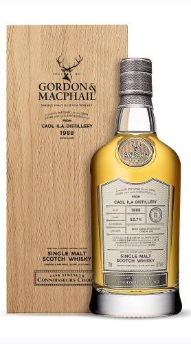 """Caol Ila 1988"" Single Malt Whisky CC Upper Range 2021 Gordon & Macphail 1988"