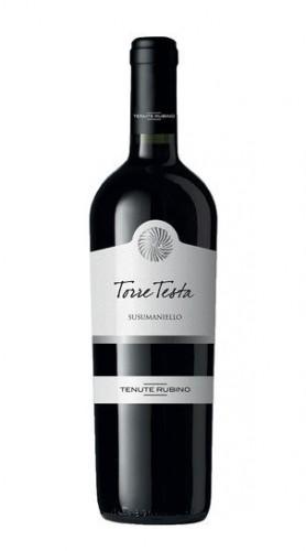 """""""Torre Testa"""" Susumaniello Salento Rosso IGT Tenute Rubino 2015"""