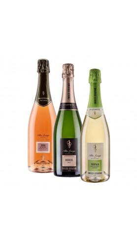 Selezione Spumanti Enrico Serafino Alta Langa DOCG ( 3 bottiglie )
