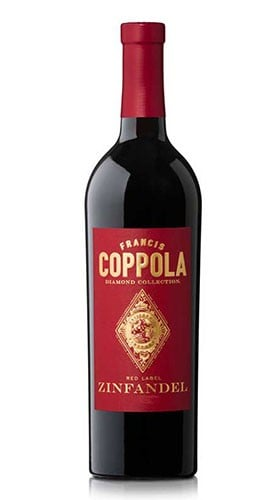 """""""Zinfandel"""" California Diamond Collection Red Label Francis Ford Coppola Winery 2018"""