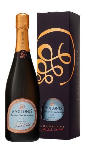 """Inspiration de Saison"" Champagne AOC Extra Brut Apollonis-Michel Loriot 2011 Astuccio"