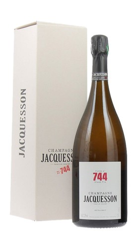 """""""Cuvée 744"""" Extra Brut Champagne AOC Jacquesson Magnum con confezione"""