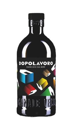 """""""Dopolavoro"""" Esercizio da bere Liquore aperitivo Amaricante Vecchio Magazzino Doganale 50 cl."""