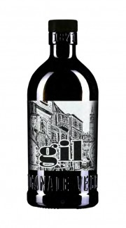 """""""Gil Italian Peated"""" Authentic rural Gin Vecchio Magazzino Doganale 50 cl."""