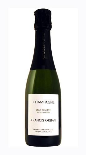 Champagne Brut Réserve Vieilles Vignes Francis Orban 37.5 cl - MEZZA BOTTIGLIA