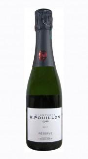 """Reserve"" Champagne Brut Roger Pouillon 37.5 cl - MEZZA BOTTIGLIA"