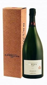 """""""Reserve"""" Champagne Brut Roger Pouillon MAGNUM con Confezione"""