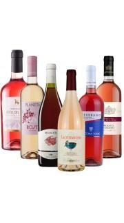 Selezione n°1 di Vini Rosati Italiani ( 6 bottiglie )