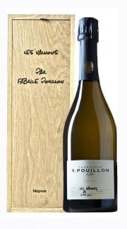 """""""Les Valnons"""" Champagne Grand Cru Roger Pouillon 2013 Magnum con Box di Legno"""