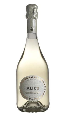 """""""Alice"""" Prosecco di Valdobbiadene Superiore Extra Dry Le Vigne di Alice 2020"""