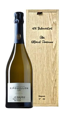"""""""Les Blanchiens"""" Champagne 1er Cru Roger Pouillon 2014 Magnum con Box di Legno"""