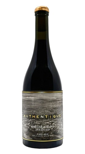 """Keeler estate Vineyard"" Pinot Noir Authentique Wine Cellars 2017"