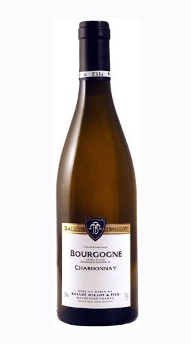 Chardonnay Bourgogne AOC Domaine Ballot Millot e Fils 2015