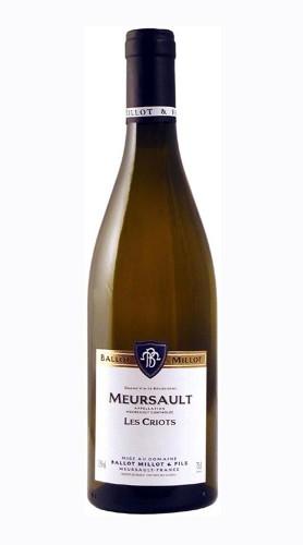Meursault Les Criots Domaine Ballot Millot & Fils 2018