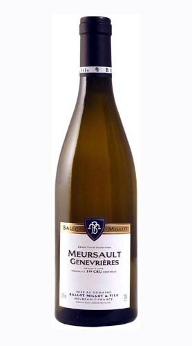 Meursault 1er Cru Genevrières Domaine Ballot Millot & Fils 2018