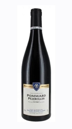 Pommard 1er Cru Pezerolles Domaine Ballot Millot & Fils 2018