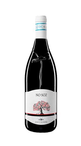"""""""NO SO2"""" Montepulciano D'Abruzzo DOC Cantina Zaccagnini 2017 75 Cl"""