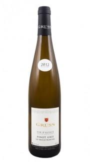 """""""Les Argiles Blanches"""" Pinot Gris Alsace AOC GRUSS 2020"""