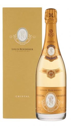 """""""Cristal"""" Champagne AOC Brut Roederer 2013 con Confezione"""