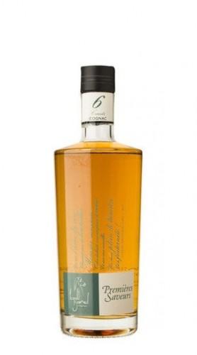 """Cognac """"Premieres Saveurs"""" 6 Carats Gourmel Leopold 70 Cl con Confezione"""