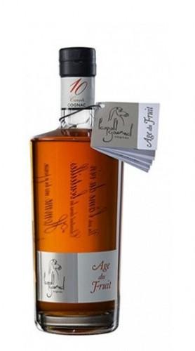 Cognac 'L'Age du Fruit' 10 Carats Gourmel Leopold 70 Cl con Confezione