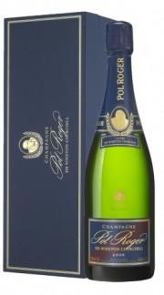 """""""Cuvée Sir Winston Churchill"""" Champagne AOC Brut Pol Roger 2006 con Confezione"""