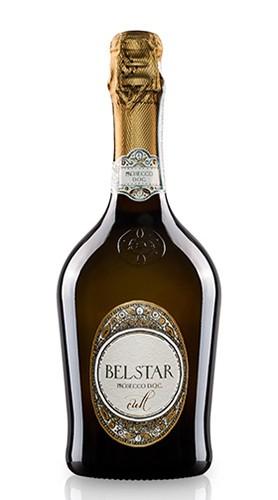 """Vino Spumante di Qualità Cuvée Extra Dry """"Bel Star Cult"""" Bisol"""