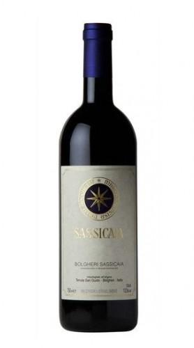 """Sassicaia"" Bolgheri Sassicaia DOC Tenuta San Guido 2014 37.5 cl - MEZZA BOTTIGLIA"