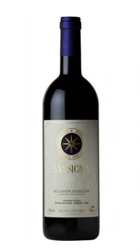 """Sassicaia"" Bolgheri Sassicaia DOC Tenuta San Guido 2011 37.5 cl - MEZZA BOTTIGLIA"