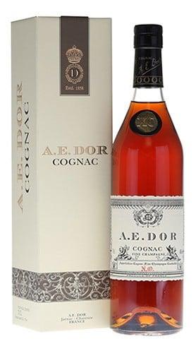 """Cognac """"Nolly"""" X.O. Maison A.E. DOR 70 Cl con Confezione"""