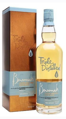 "Whisky Single Malt ""Triple Distilled"" Benromach 2009 70 Cl"