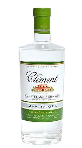 """Rhum Blanc Agricole """"Première Canne"""" Clément Rhum 70 Cl"""