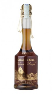 "Calvados Royal ""Age d'Or"" Château du Breuil 70 Cl Box di Legno"