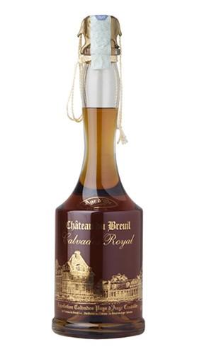 "Calvados Royal ""Age d'Or"" Château du Breuil 70 Cl Box di Legno"