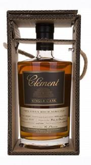 """Très Vieux Rhum Agricole """"Single Cask"""" 100% Canne Bleue Clément Rhum 50 Cl con Confezione"""