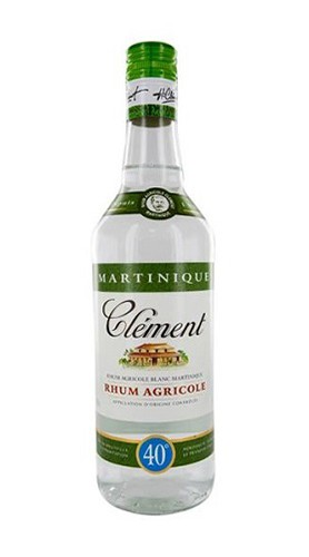 Rhum Agricole Blanc Martinique Clément Rhum 70 Cl