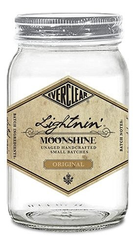 """Moonshine """"White Lightnin' """" Everclear 50 Cl senza Confezione"""