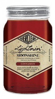 "Whisky Moonshine ""Cinnamon Lightnin'"" Everclear 50 Cl senza Confezione"