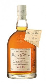 """Rum Ron Añejo """"Dos Maderas 5+3 Years Old"""" Williams & Humbert 70 Cl"""