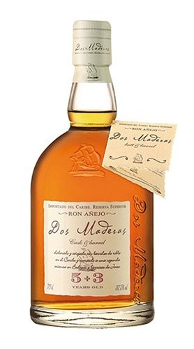 """Ron Añejo """"Dos Maderas 5+3 Years Old"""" Williams & Humbert 70 Cl"""