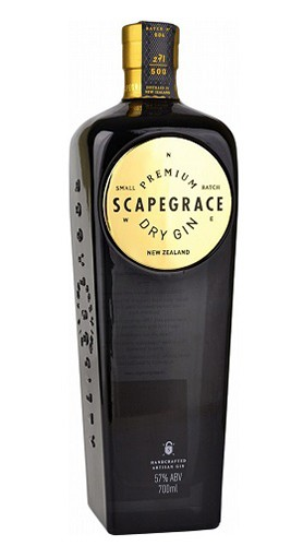 """Dry Gin """"Gold"""" Scapegrace 70 Cl"""